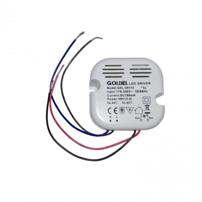 Transformador 12v 220 v hasta 12w for Transformador led 12v