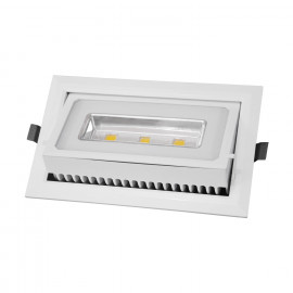 PROYECTOR RECTANGULAR (empotrable / superficie) -LED 40W 6000K