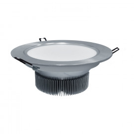 DOWNLIGHT LED 24W 6500K CIRCULAR ALUMINIO