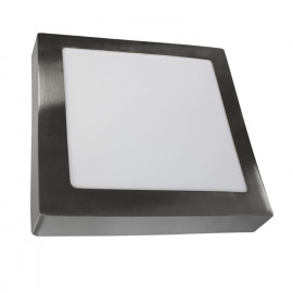 DOWNLIGHT SUPERFICIE CUADRADO- LED 20W 4000K NÍQUEL