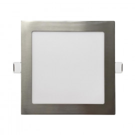 DOWNLIGHT CUADRADO PLANO- LED 18W 6000K