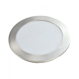 DOWNLIGHT CIRCULAR PLANO- LED 18W 4000K NÍQUEL