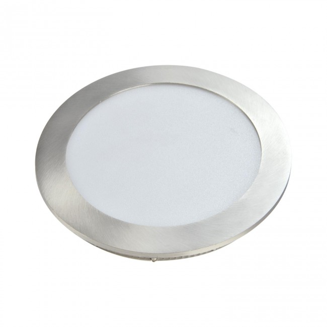DOWNLIGHT CIRCULAR PLANO- LED 12W 4000K NÍQUEL