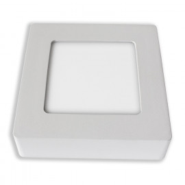 MINIDOWN SUPERFICIE CUADRADO LED 6W BLANCO