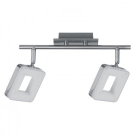 REGLETA 2 LUCES LED CUADRADO 12W 4000K