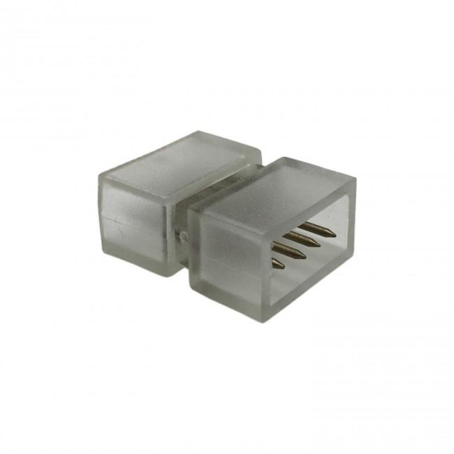 CONECTOR EMPALME TIRA 220V 5050 RGB