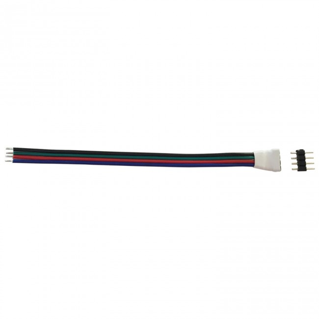CABLES RGB CON CONECTOR A UN LADO