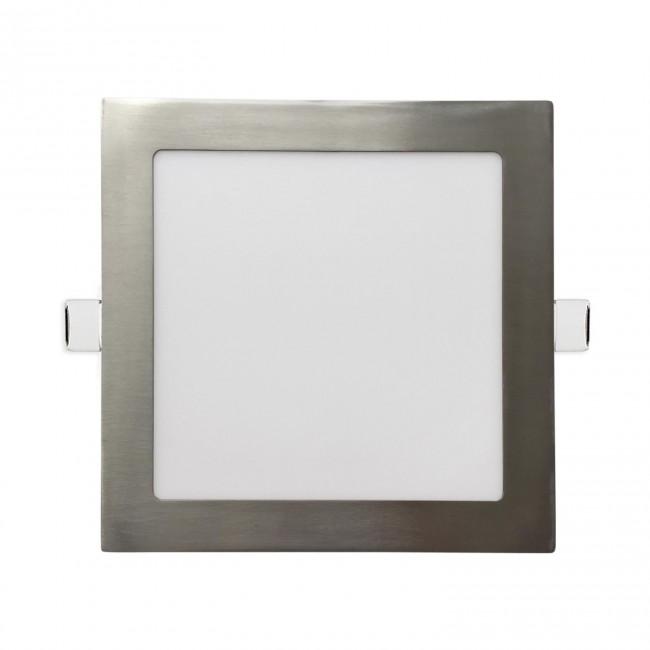 DOWNLIGHT CUADRADO PLANO- LED 18W 6000K